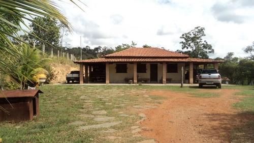 Linda Fazenda, Localizada Em Baldim Com 60,92 Hectares - 933