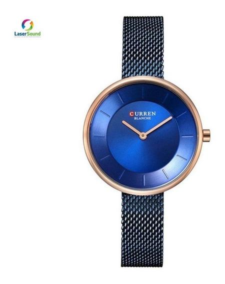 Relógio Feminino Curren C9030l C/ Garantia E Nf