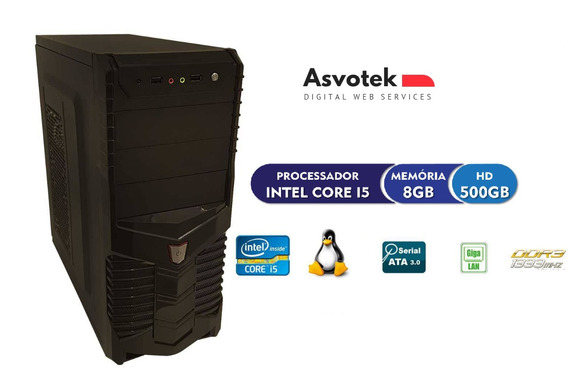 Computador Intel Core I5 8gb Hd 500 Asvotek