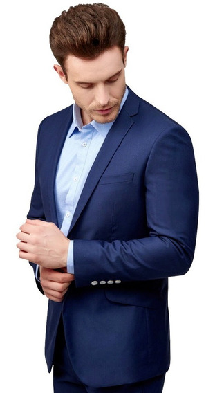 Terno Slim Masculino Oxford Masculinos + Gravata
