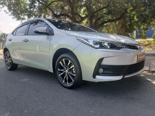 Imagem 1 de 15 de Toyota Corolla Gli 1.8 Flex Aut 2018 Prata C 40700 Km