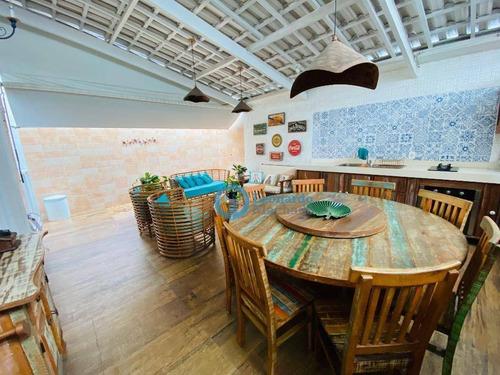 Casa Com 3 Dormitórios À Venda, 170 M² Por R$ 520.000,00 - Tamatanduba - Eusébio/ce - Ca0036