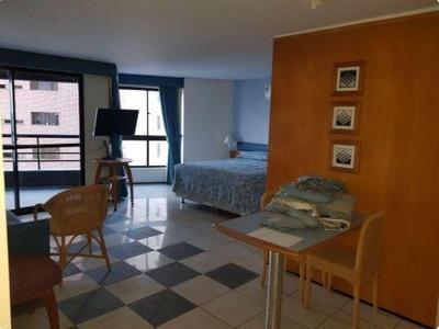 Flat Residencial À Venda, Mucuripe, Fortaleza. - Fl0034