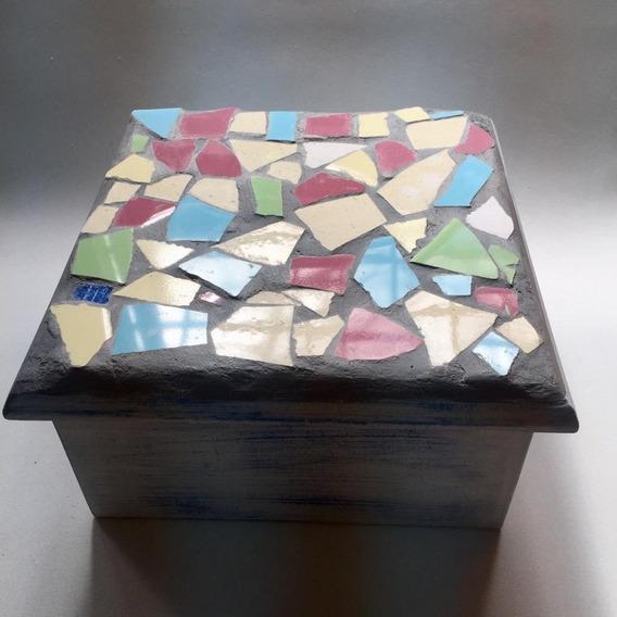 Cajas De Té Artesanales Con Venecitas - 4 Divisiones