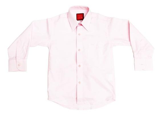 Camisa Manga Larga Colores Varios Marca Oscar Niño #4 A #20