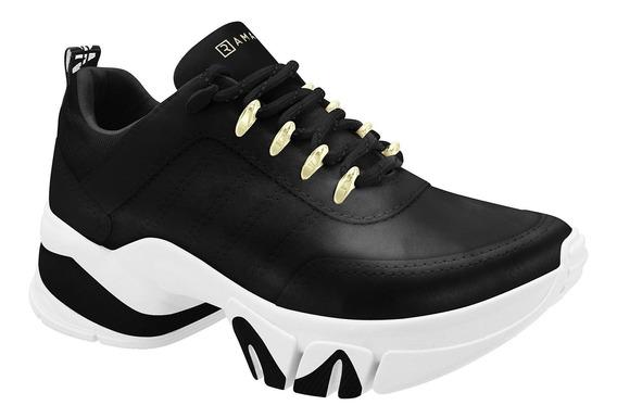 Tênis Chunky Ramarim Sneaker Tratorado 2080103 Feminino