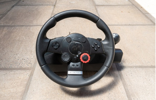 Volante Logitech Driving Force Gt - Impecable