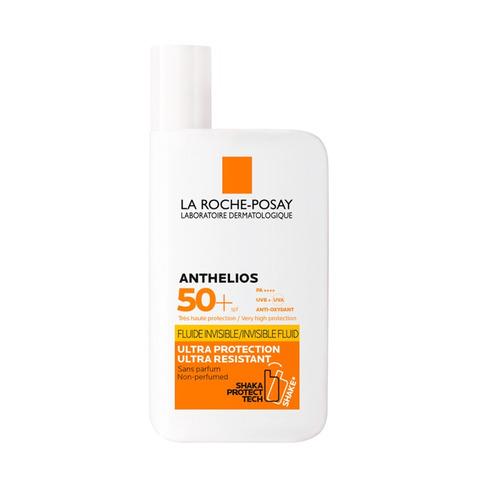 Protector Solar La Roche-posay Anthelios Xl Ultra Fluído Shaka-shaka Resistente Al Agua Fps50 X 50 Ml