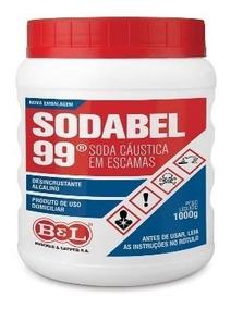 Soda Bel 99 1000g Caustica