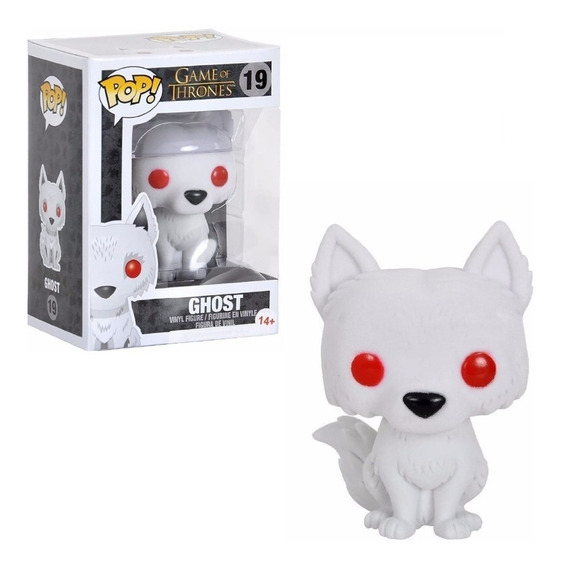 Figura Funko Pop Games Of Thrones - Ghost 19. Original Wabro