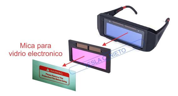 Mica Lente Repuesto Exterior Para Vidrio Electronico