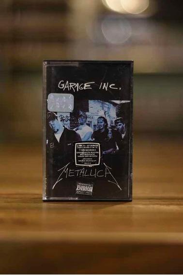 Metallica Garage Inc. Cassette Nuevo Doble