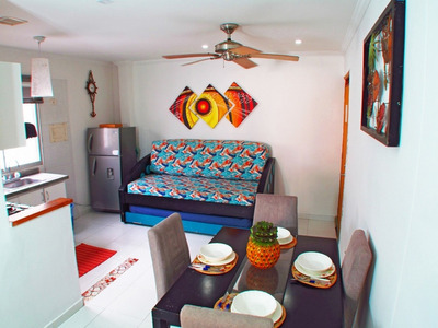 Alquiler Apartamento Rodadero Con Balcon Frente A La Playa