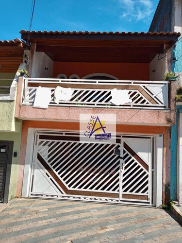 Imagem 1 de 30 de Sobrado Com 3 Dormitórios À Venda, 230 M² Por R$ 599.000,00 - Jardim Campo Verde - Mauá/sp - So0170