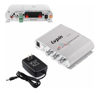 Amplificador Estéreo De Alta Fidelidad Lvpin De 12 V Radio M