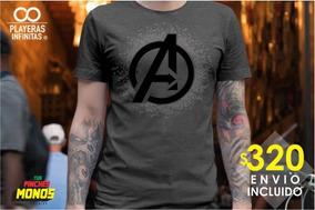 Playera Avengers Endgame - Logo Avengers - Envio Inc