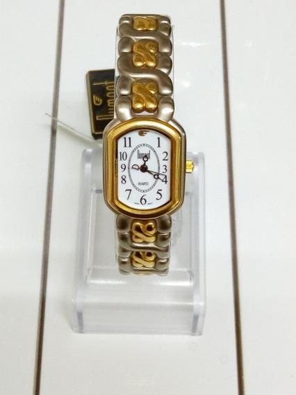 Relógio Dumont Feminino Do29488 Em Aço