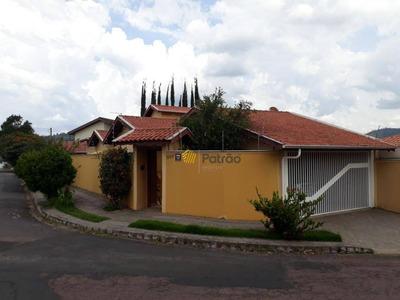 Casa Excelente Em Ótimo Local, Jardim Itália, Amparo - Ca0218. - Ca0218