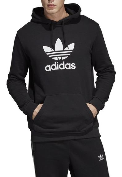 adidas Hoodie Trefoil Ne/bl
