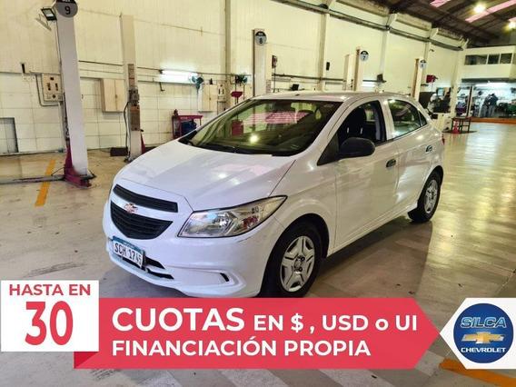 Chevrolet Onix Joy 2017 Blanco 5 Puertas