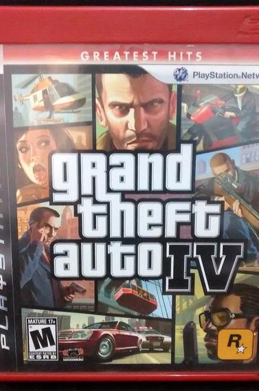 Jogo Grand Theft Auto Iv - Mídia Física Para Playstation 3