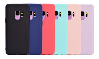 Case De Goma Delgada Para Samsung Galaxy Ligera Flexible Suave Hombre Mujer Dama Resistente Fundas Tpu Candy Pastel Moda