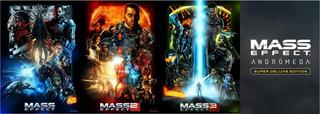 Mass Effect Coleccion (1,2,3 Y Andromeda) Pc Digital