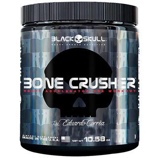 Pre Treino Bone Crusher 150g Black Skull Força Energia