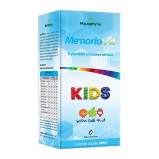 Memoriovit Kids (polivitamínico) 240ml