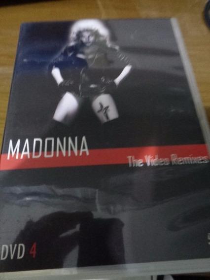 Dvd Madonna - Videos Remixes (4 Dvds) (madame X)