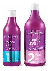 Lowell Keeping Liss Kit Action Plus Escova Progressiva