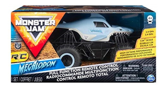 Monster Jam Rc Radio Control Spin Mater 1:24 Carros
