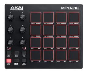 Akai Mpd 218 . Controladora Midi Dj . Mpd 18 Mk2 . Loja !!!