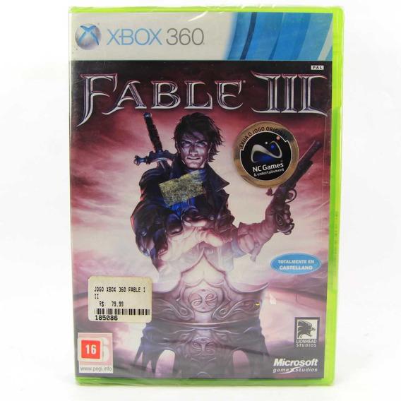 Jogo Xbox 360 Fable Iii