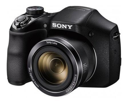 Câmera Sony Dsc-h300 20mp/35x/hd Preto