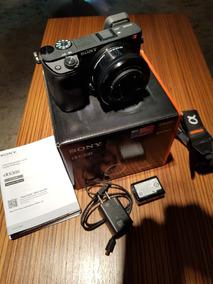 Sony A6300 Com Lente Selp1650
