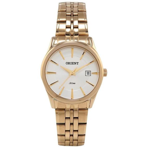 Relógio Orient Eternal Feminino Dourado C/nf Fgss1072 S1kx