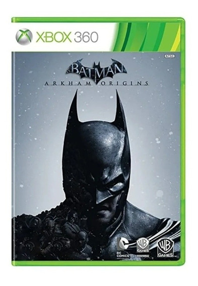 Batman Arkham Origins Mídia Física Original - Xbox 360