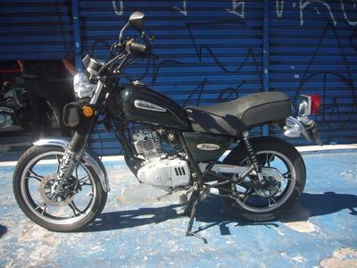 Suzuki Intruder 125 Ano 2011 Verde Troca Financia