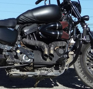 Escapes Para Harley Davidson Sportster Del 2014-up Tipo Drag