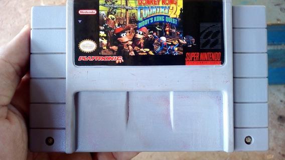 Donkey Kong 2 Super Nintendo Snes Dk2
