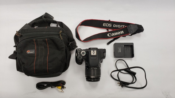 Canon Eos Rebel T3i + Efs 18-55mm