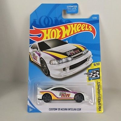 Hot Wheels Custom `01 Acura Integra Gsr