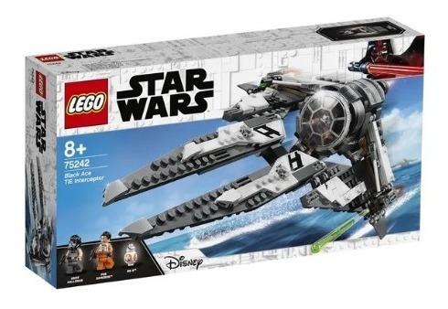 Lego Star Wars Black Ace Tie Interceptor - 396 Peças 75242