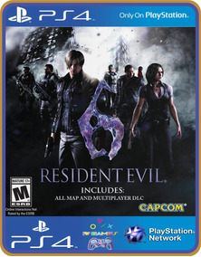 Ps4 Resident Evil 6 Psn Original 1 Mídia Digital