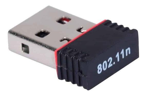 Adaptador Wifi Placa De Red Usb Nano Wireless 150mbps Local