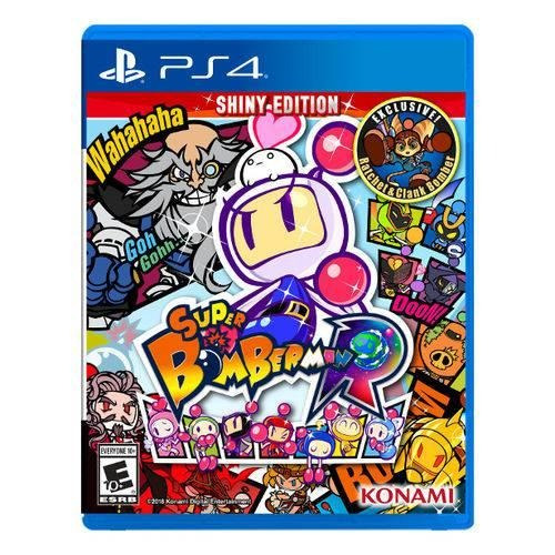 Jogo Super Bomberman Shiny Edition - Ps4 - Playstation 4