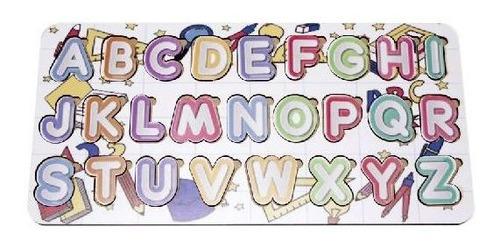 Imagem 1 de 3 de Tabuleiro Alfabeto Produto Didático Educativo Letras