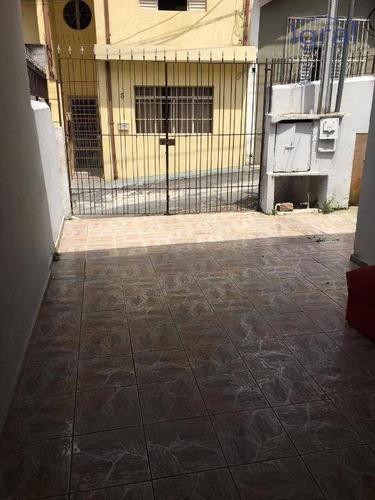 Casa Com 1 Dormitório Para Alugar, 30 M² Por R$ 900,00/mês - Vila Guarani (zona Sul) - São Paulo/sp - Ca1096