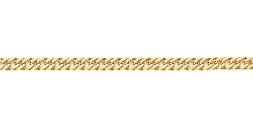 Pulseira Masculina Banhada Ouro Rommanel 550248 Fio Grumet
